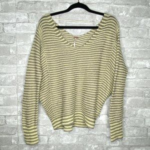 Free People Bumblebee Striped Sweater